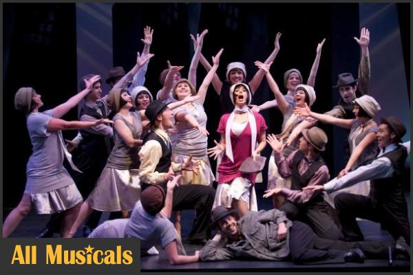 thoroughly modern millie musical synopsis